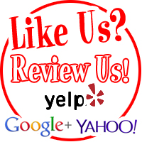 Like Us? Review Us!